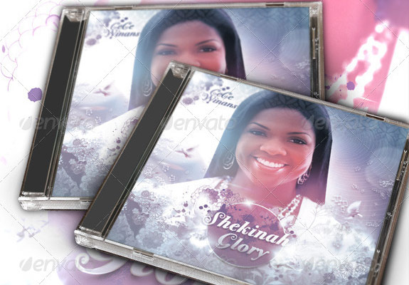 A Splash of Lavender CD Insert and Label Template