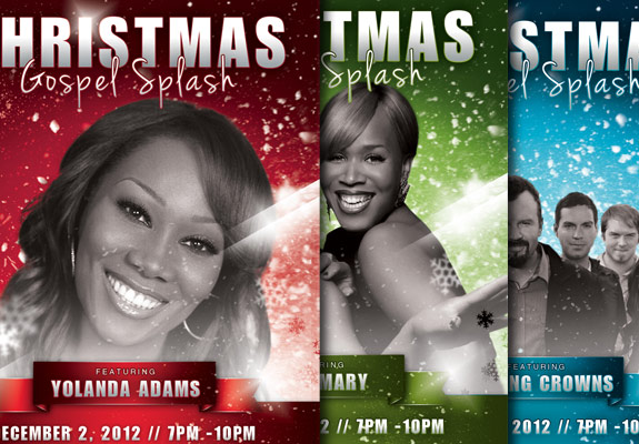 Wonderful Church Christmas Flyer Templates Graphicmule
