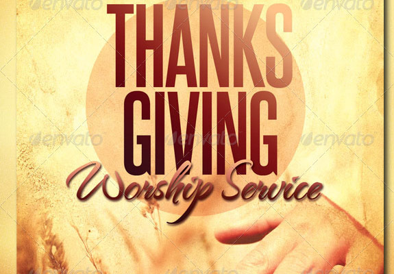 Harvest  and Thanksgiving Worship Service Template
