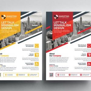 PSD Print Flyer Templates