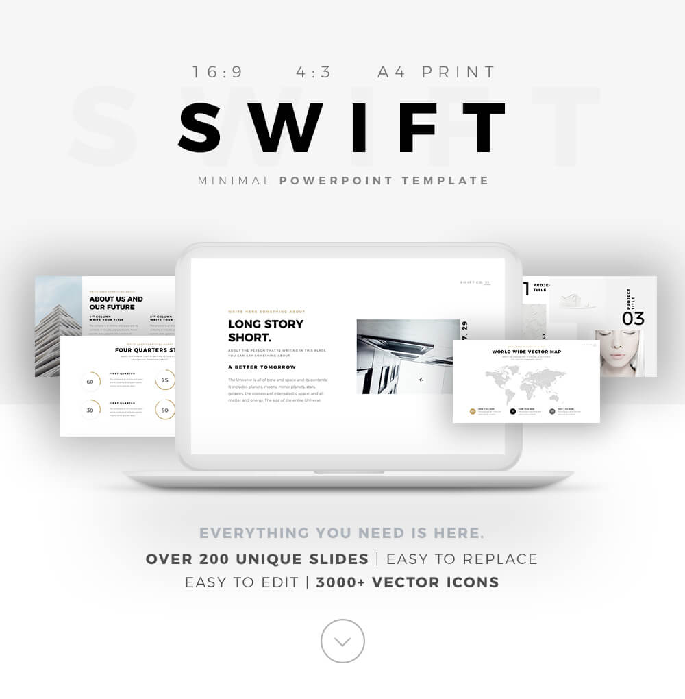 swift powerpoint template presentation builder pptx
