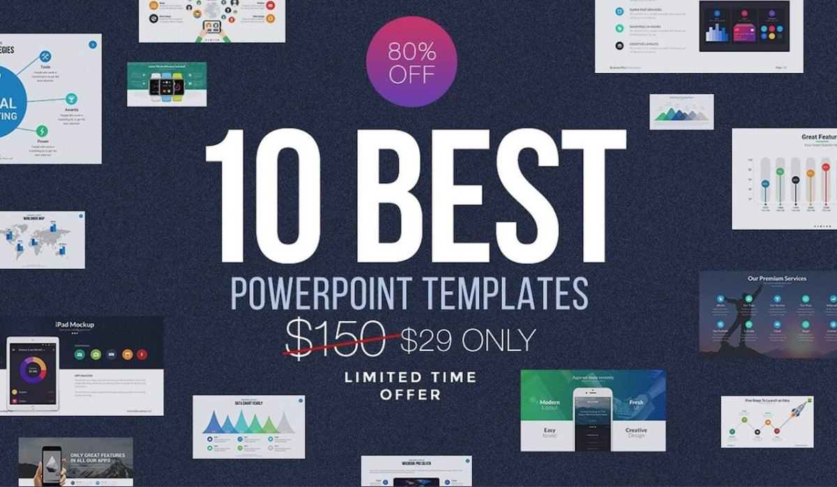 30 Best Highly Flexible Powerpoint Templates 2017