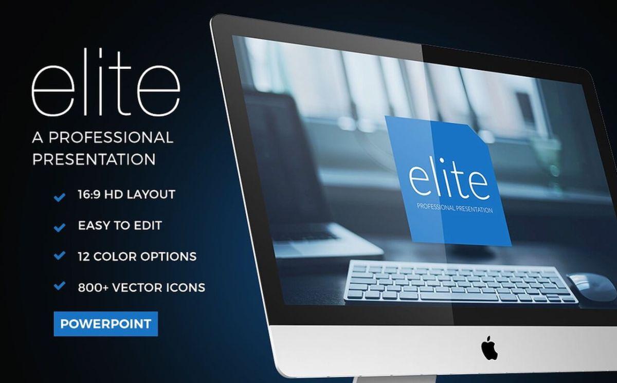 Elite Powerpoint Template -min