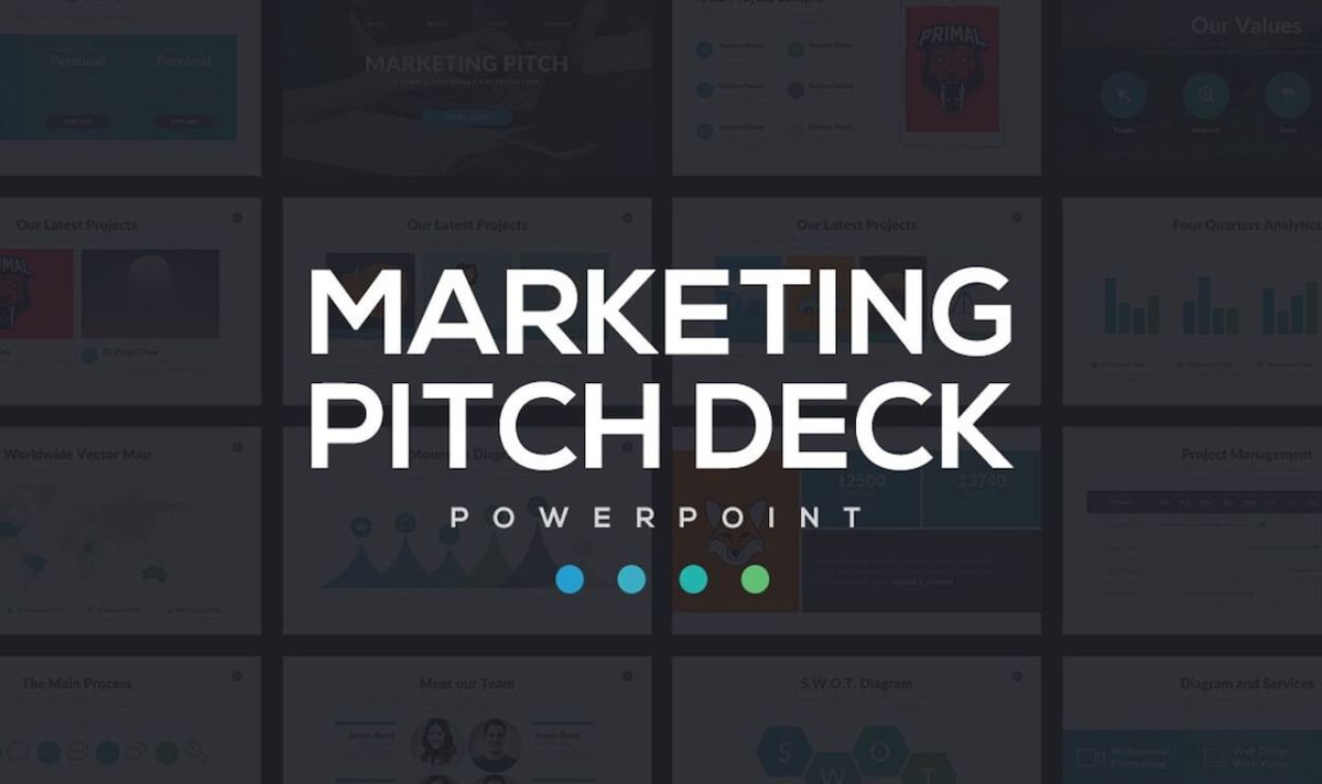 Marketing Pitch Deck PowerPoint -min