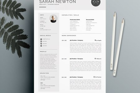 20 Free and Premium Best Resume Templates   Word  PSD  INDD Like the template above  this one is specifically great for people who want  to present every piece of themselves to show how great you are and ensure  the