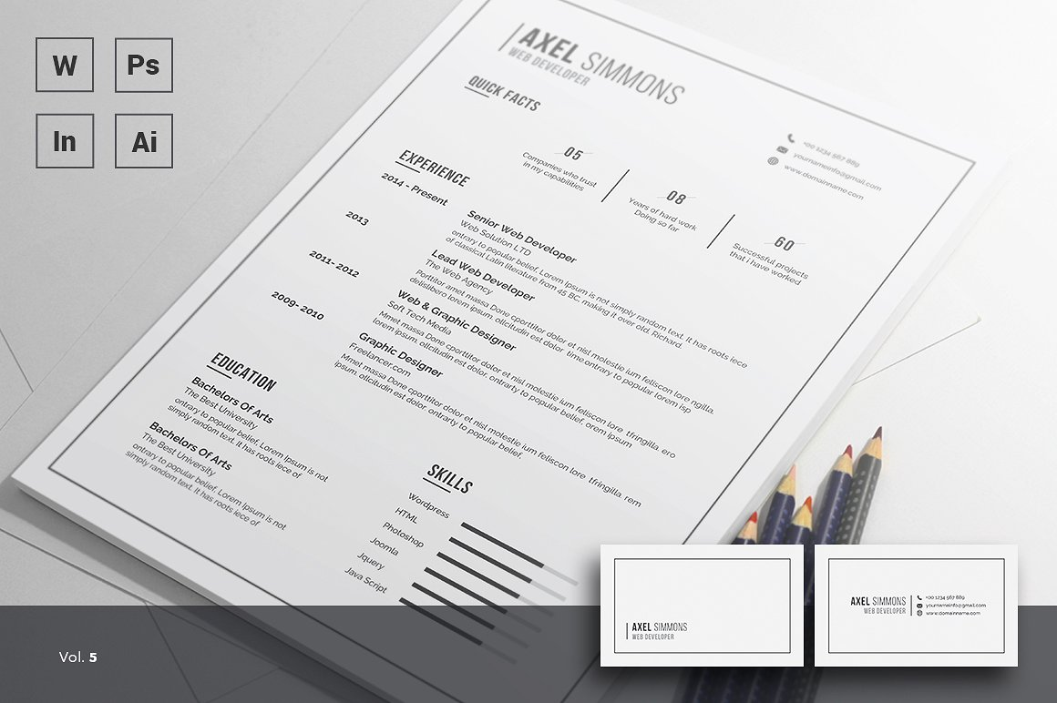 If You Enjoy Being Creative And Using Different Fonts To Make Your Resume  Stand Out From The Rest Of Your Competition, This Resume Is Most Def The  One For ...