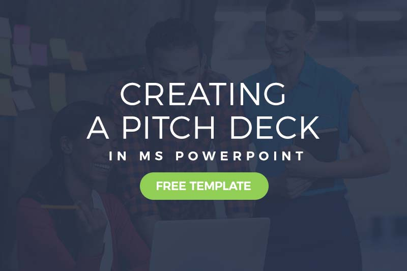 Creating A Pitch Deck In Powerpoint Free Template Included