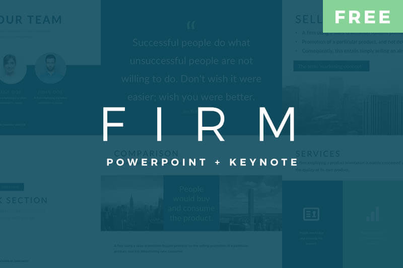 Free PowerPoint Templates - Free PowerPoint Keynote Template Pitch Deck Best Free Powerpoint Templates