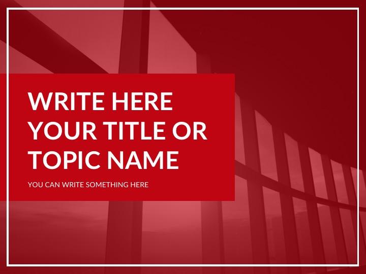 Free Powerpoint, Keynote, Google Slides Themes Presentation Template