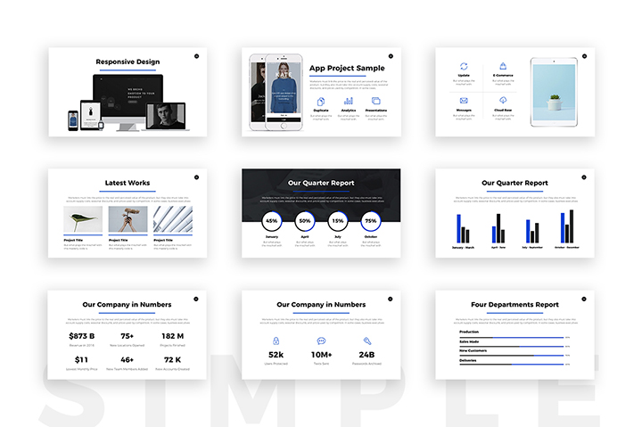 Business Plan Professional Powerpoint Template Keynote Google Slides