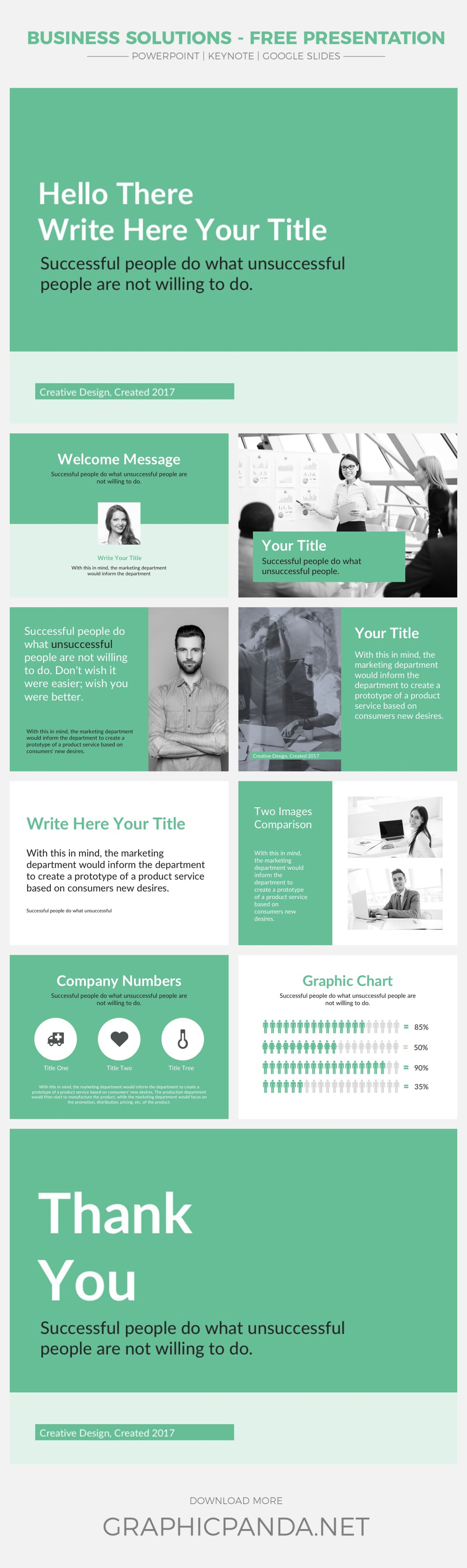 success powerpoint templates free download image