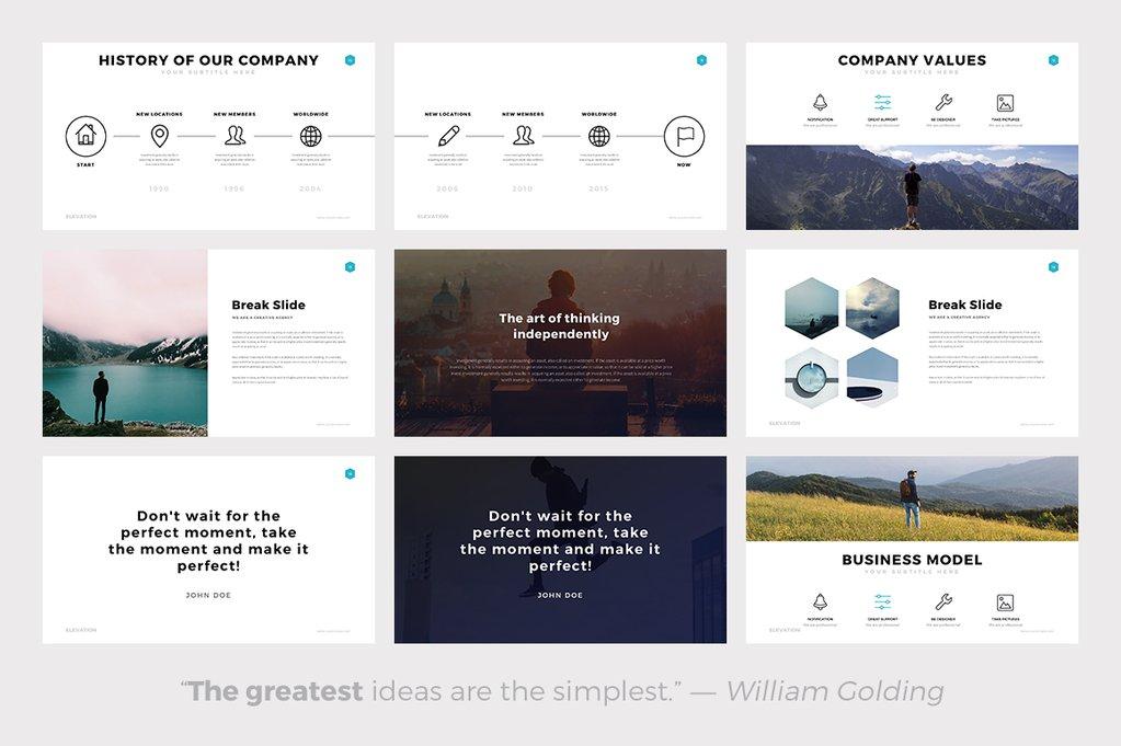 The 24 best minimalist powerpoint templates of 2018 best minimalist powerpoint template best minimal keynote themes best google slides themes toneelgroepblik Gallery
