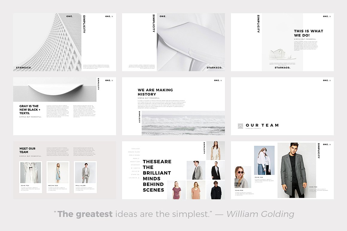 The 24 best minimalist powerpoint templates of 2018 best minimalist powerpoint template best minimal keynote themes best google slides themes alramifo Image collections