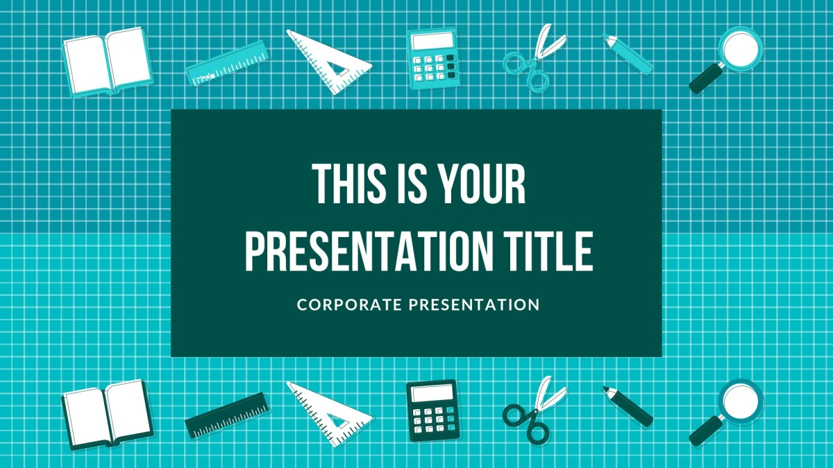 Education Free PowerPoint Template, Google Slides, Keynote Themes