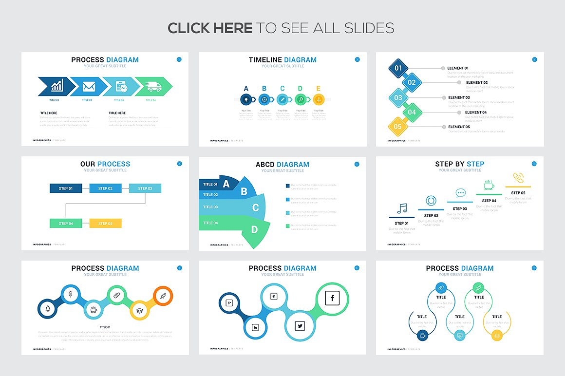 74 Steps and Process Infographic Templates - PowerPoint ...