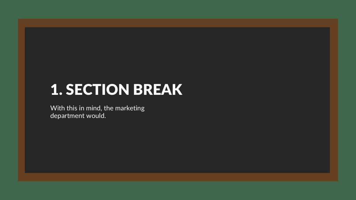 Blackboard Free Google Slides Theme, PowerPoint, Keynote Themes