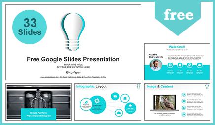 Abstract Paper Idea Bulb Google Slides