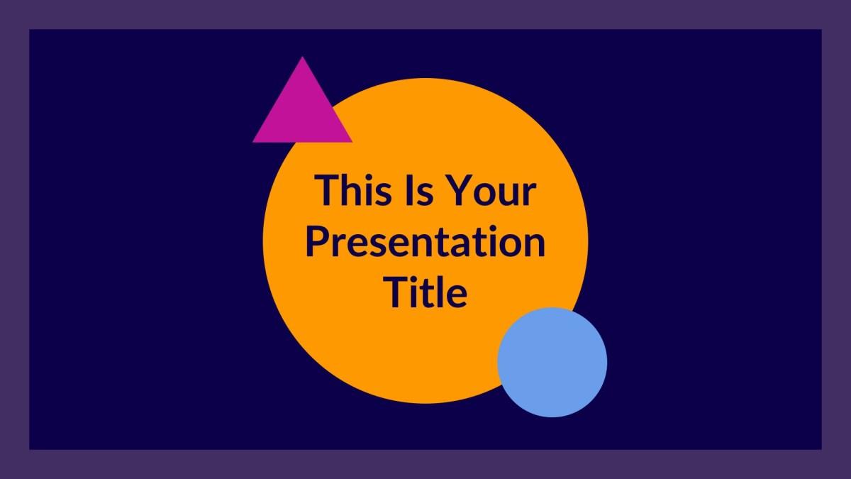 Jupiter Free Powerpoint Templates Google Slides And Keynote Theme