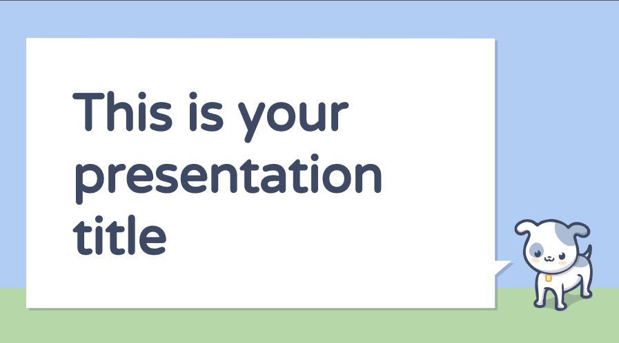 Crab Presentation Template