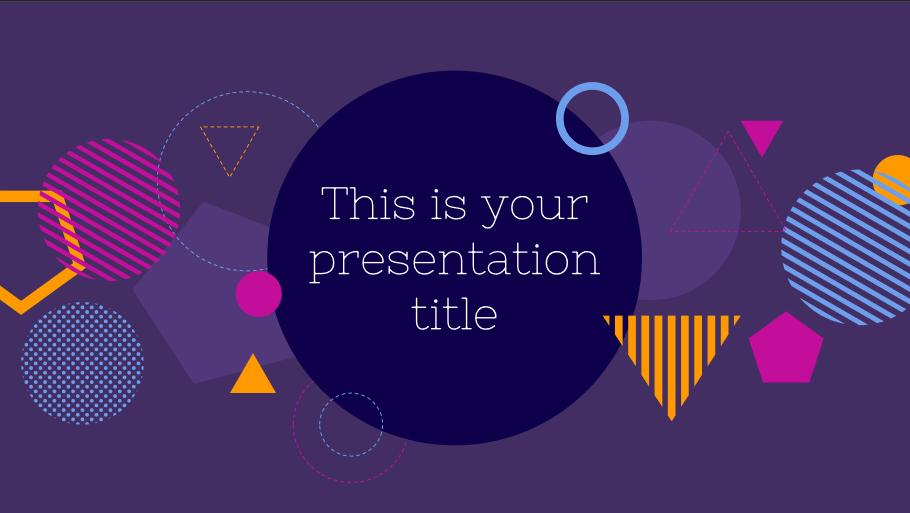 Hecate Presentation Template