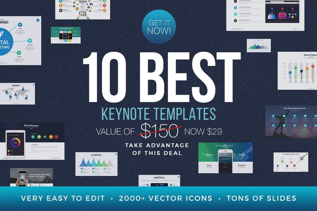 Top 60 best free keynote templates of 2018 best free keynote templates maxwellsz