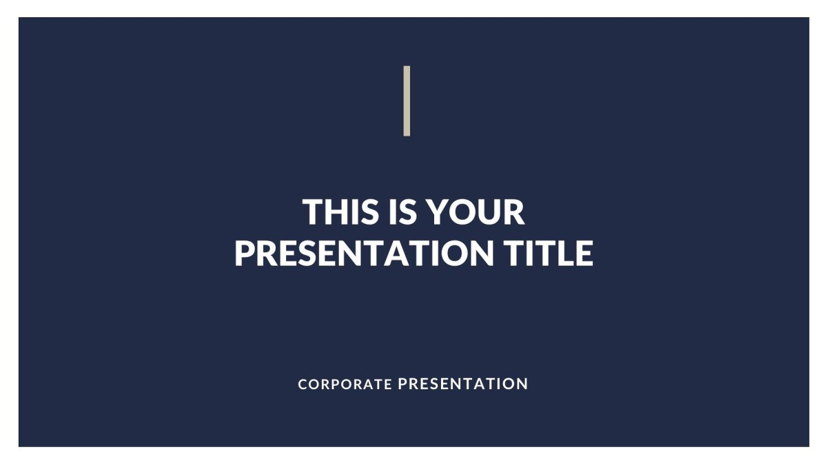 01 Classy Business Free PowerPoint Template Keynote Theme Google Slides