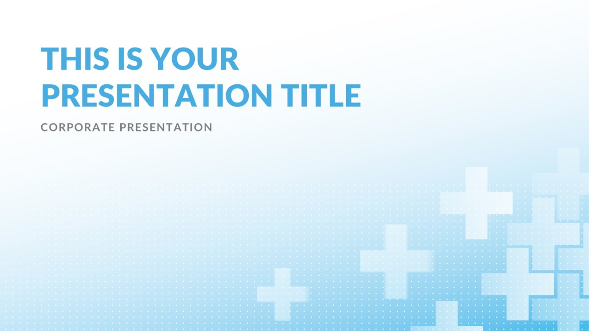Medical Powerpoint Templates | Clinic Medical Free Powerpoint Template Keynote Theme Google Slides