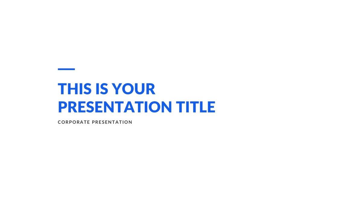 01 Creek Business Free PowerPoint Template Keynote Theme Google Slides