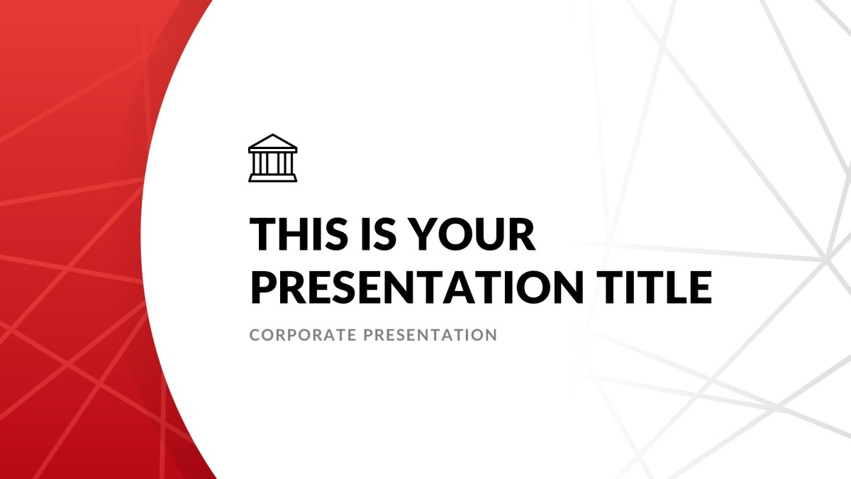 Investment real estate free powerpoint template apple keynote investment real estate free powerpoint template google slides keynote toneelgroepblik Gallery