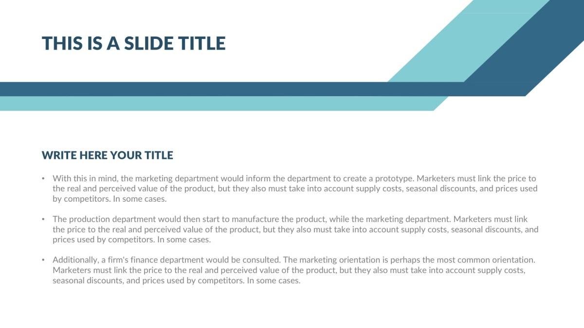 Generic Real Estate Free PowerPoint Template, Google Slides, Keynote