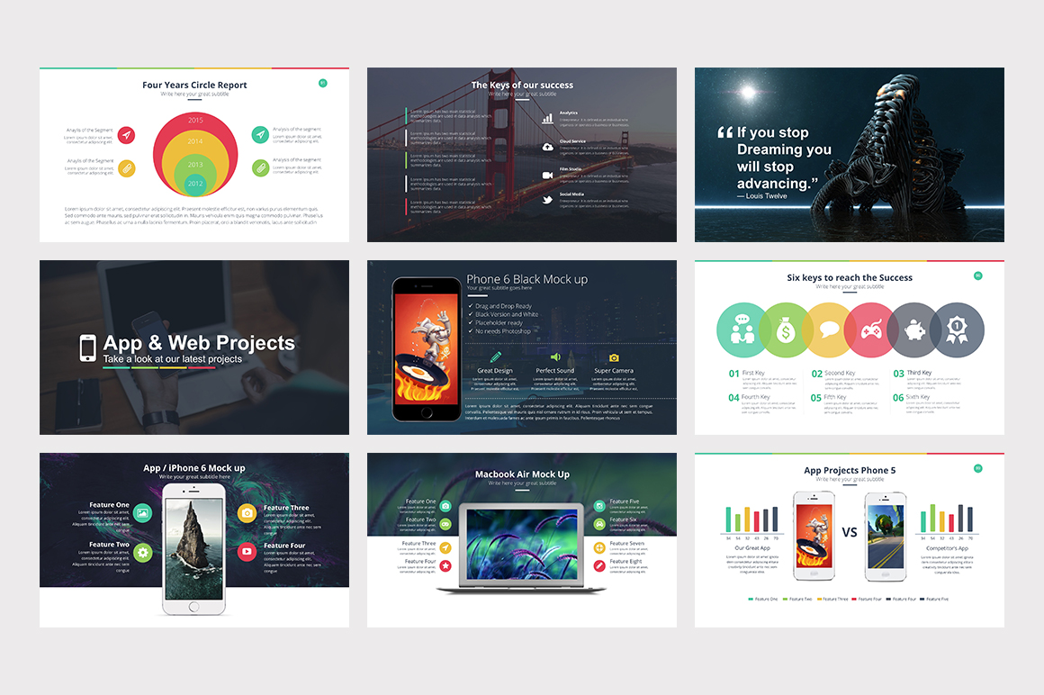 Marketer Pro PowerPoint Template