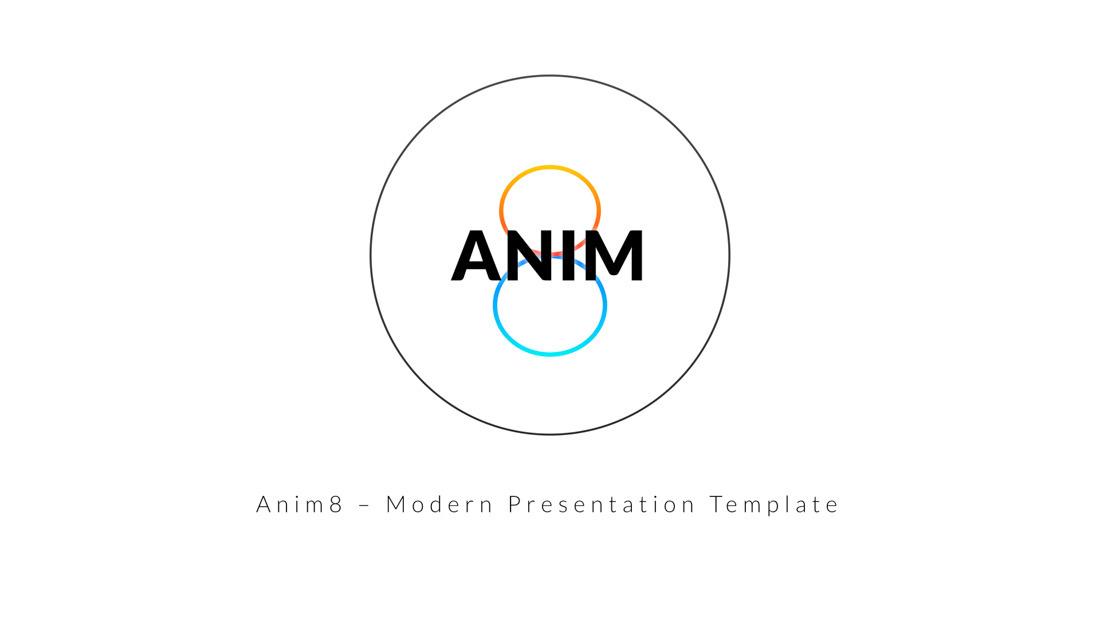 Anim8 – Keynote Presentation Template