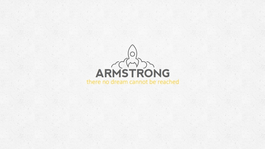 Armstrong - Outer Space Keynote Template