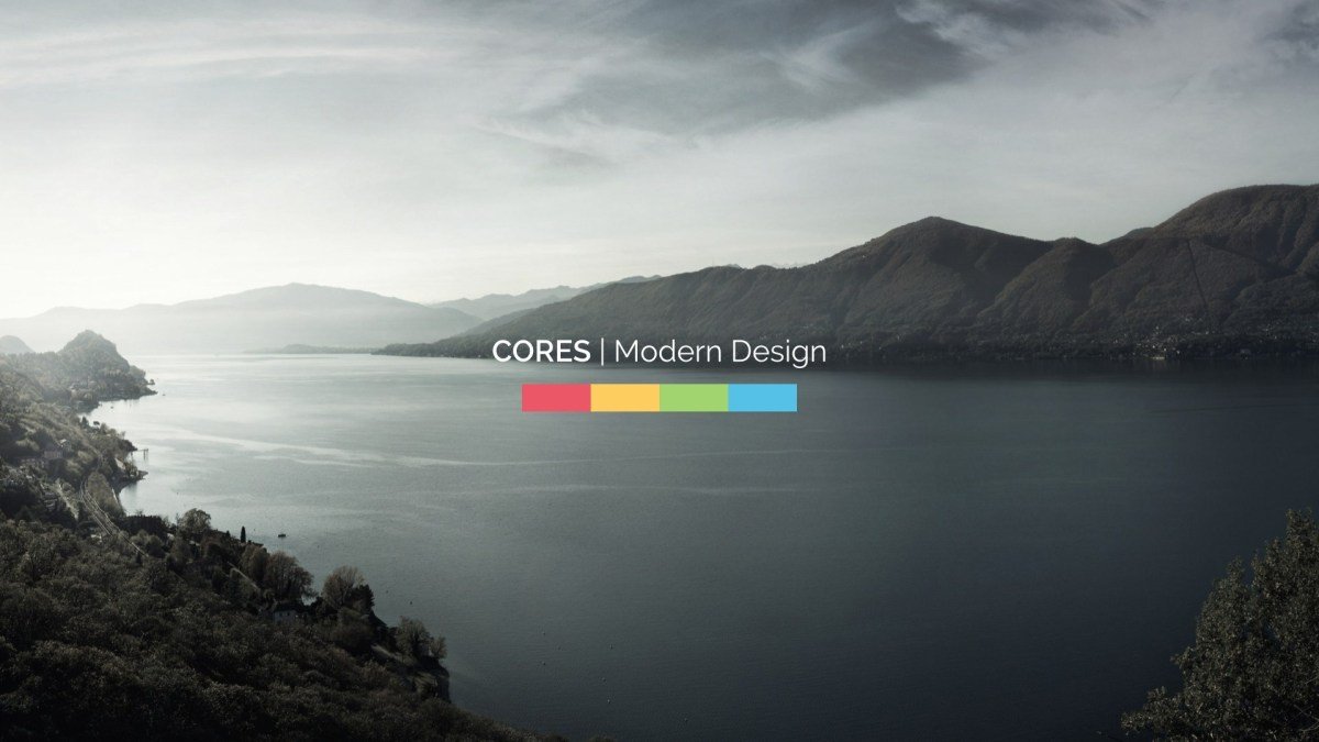 Cores - Keynote Presentation Template