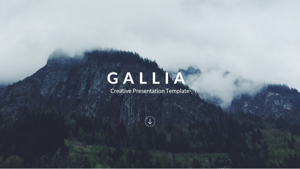 Gallia - Creative Google Slide Template