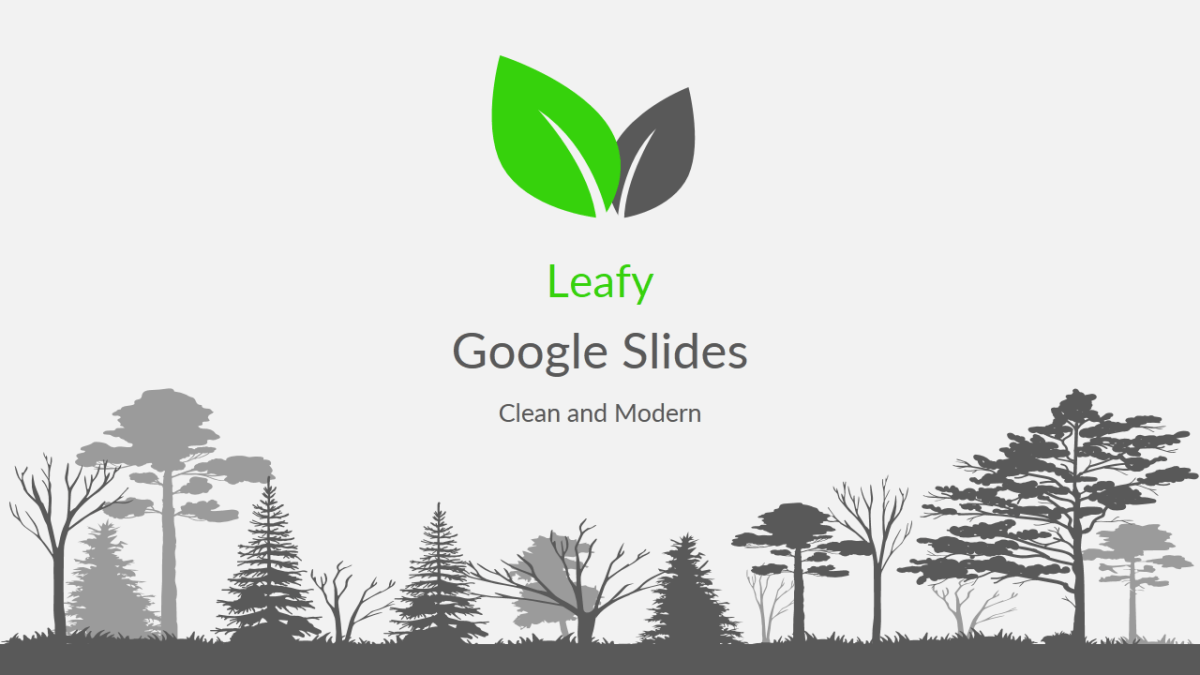 Leafy Google Slides Template