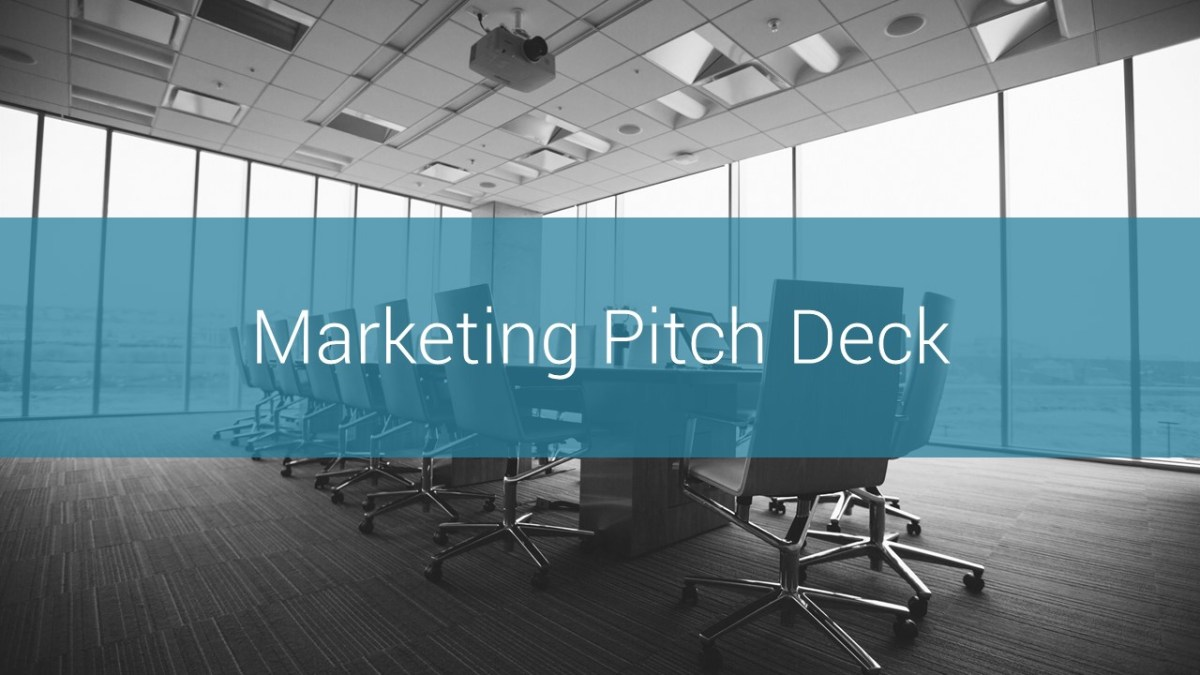 Marketing Pitch Deck Google Slides Presentation Template