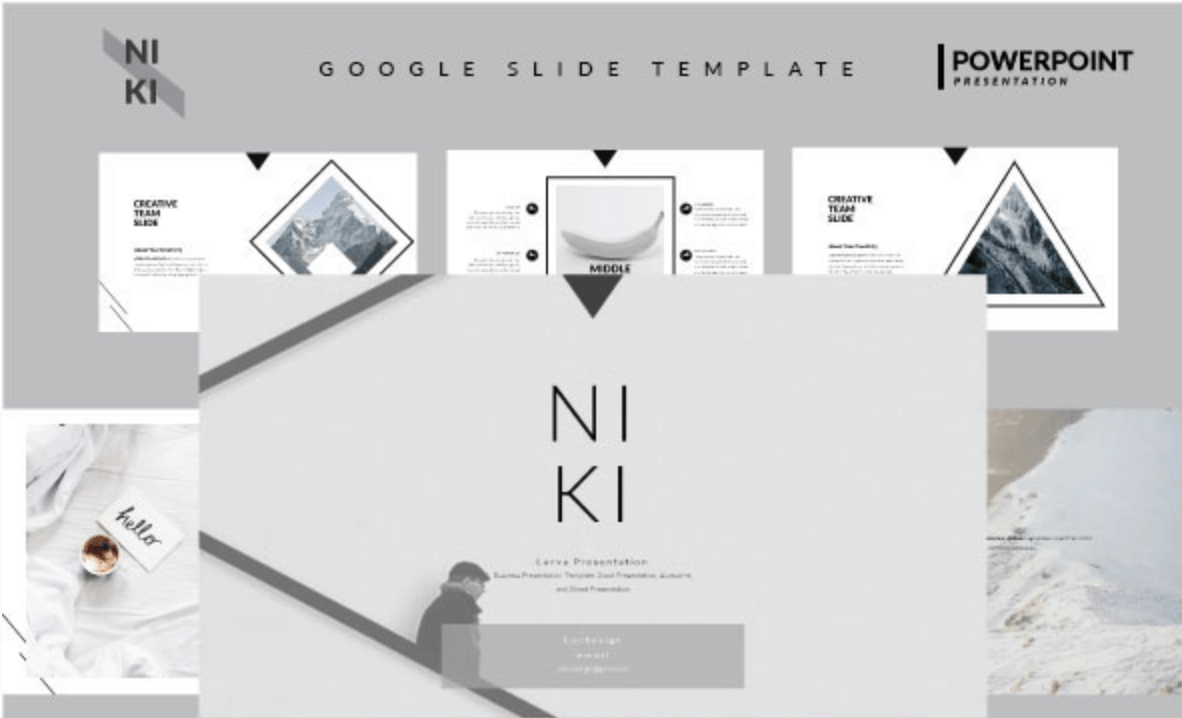 Niki - Google Slide Template