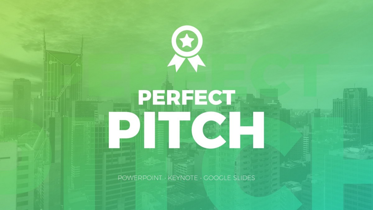 Perfect Pitch Deck Google Slides Template