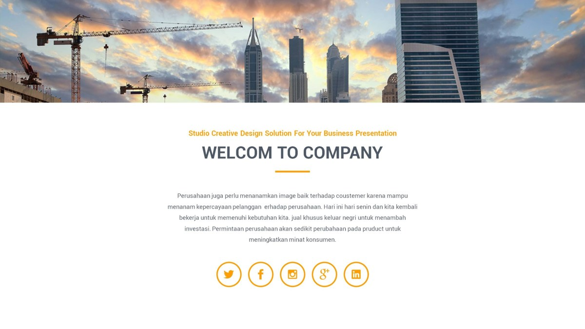 Quil Google Slides Template