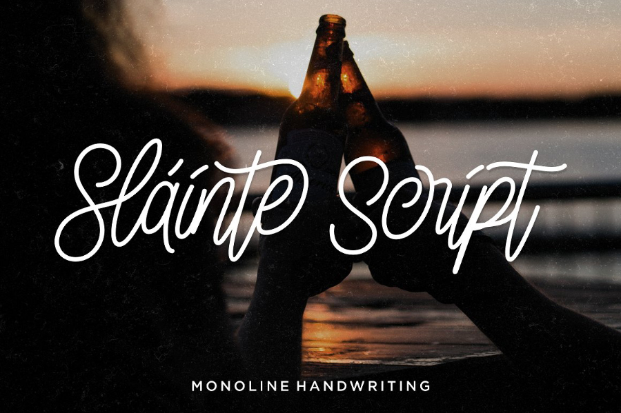 Slainte Script Free Font