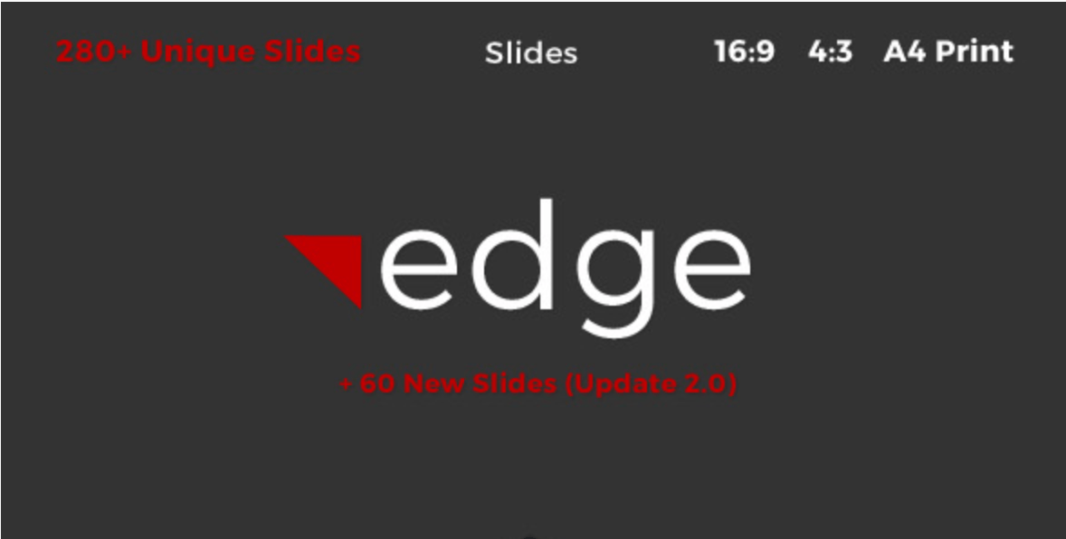 edge Google Slides Template