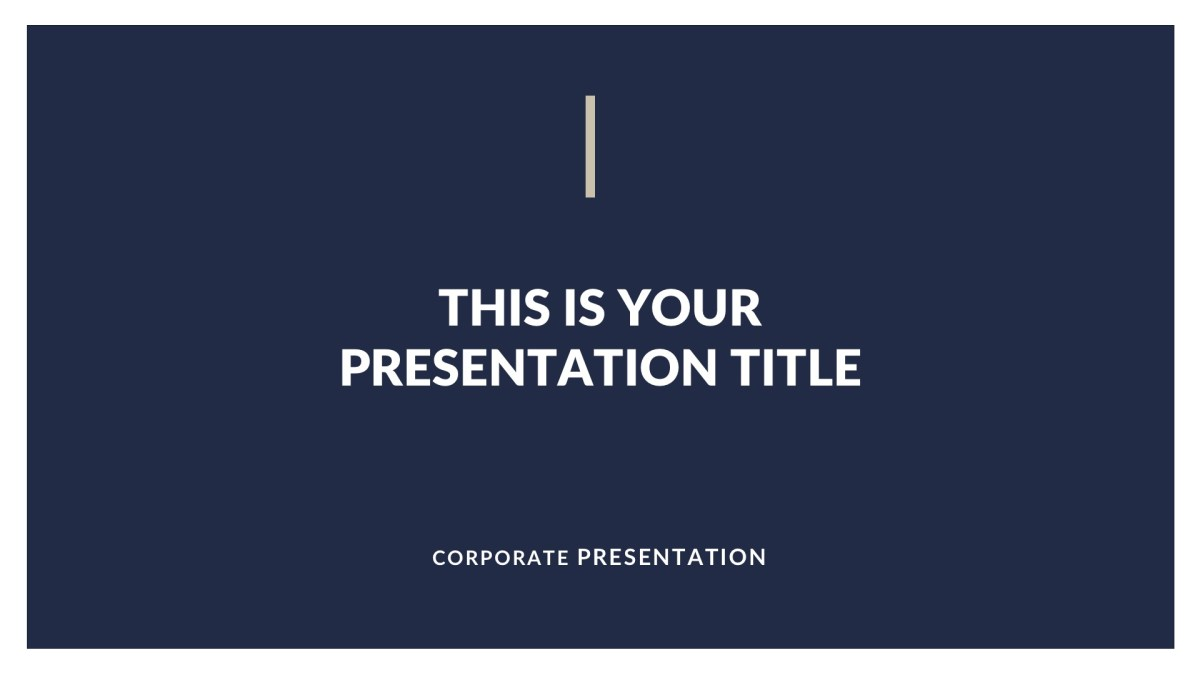Classy Business Free PowerPoint Template, Keynote, and Google Slides