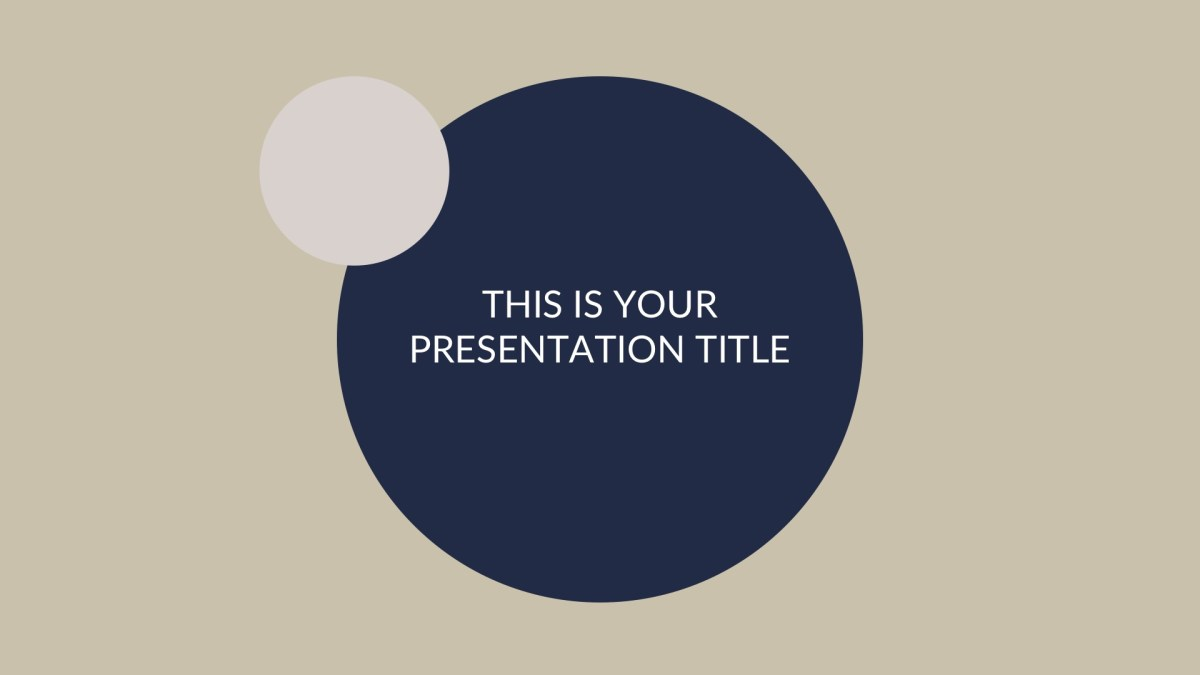 Elegant Business Free PowerPoint Template, Keynote Theme, Google Slides
