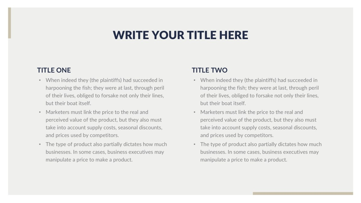 Classy Business Free PowerPoint Template, Keynote Theme, Google Slides