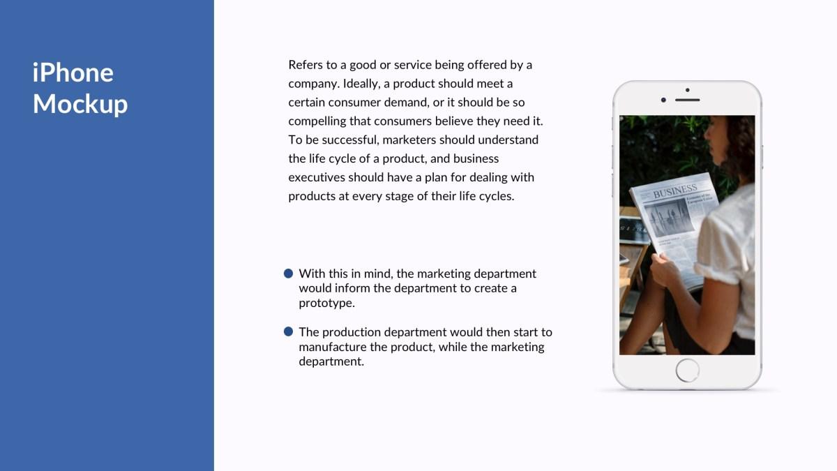 Millenium Business Free PowerPoint Template, Keynote Theme, Google Slides