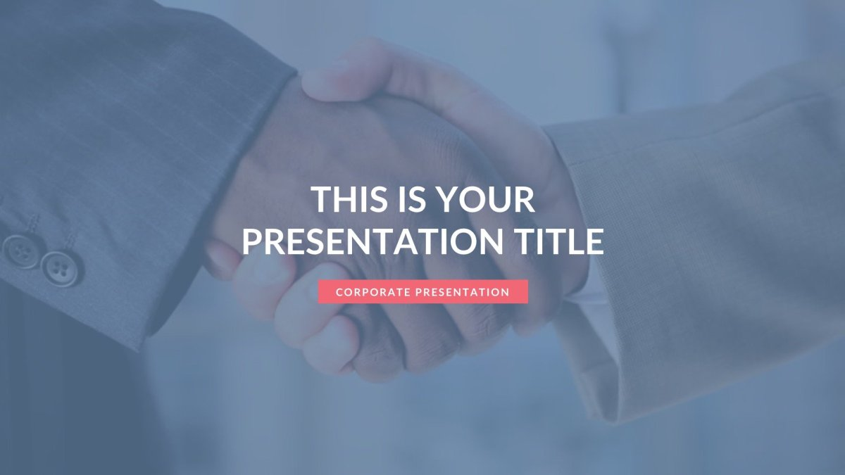Agency Business Free PowerPoint Template