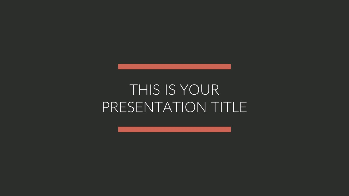 BLK Business Free PowerPoint Template