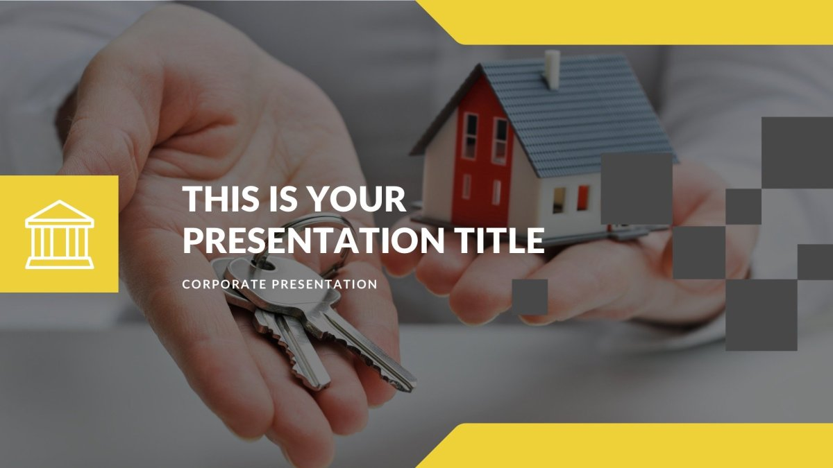 Rent Real Estate Free PowerPoint Template