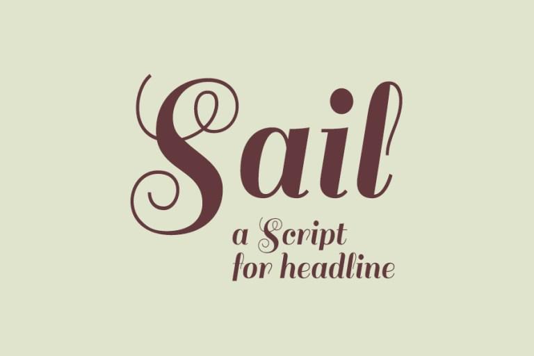 Sail Font